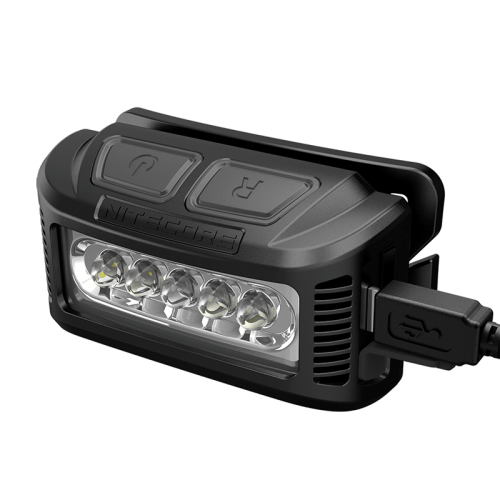 ΦΑΚΟΣ LED NITECORE HEADLAMP NU10, Black+Black Headband.