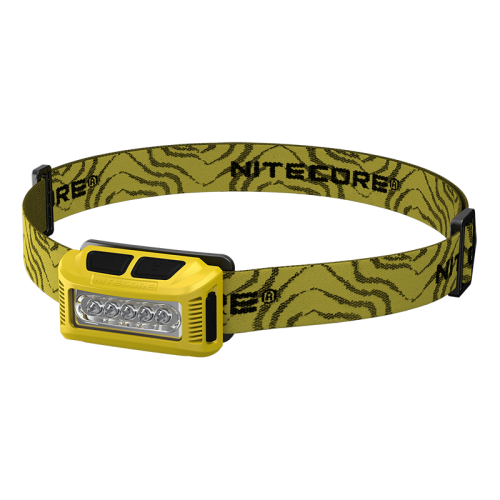 ΦΑΚΟΣ LED NITECORE HEADLAMP NU10, Yellow.