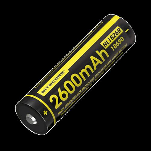 ΜΠΑΤΑΡΙΑ NITECORE 18650 2600mAhMicro USB