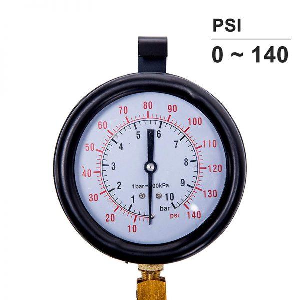 Κιτ μέτρησης πίεσης βενζίνης έως 10 bar.