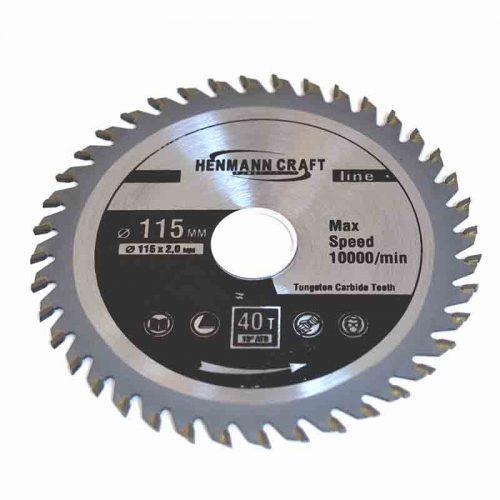 Διαμαντόδισκος κοπής ξύλου 115 mm.