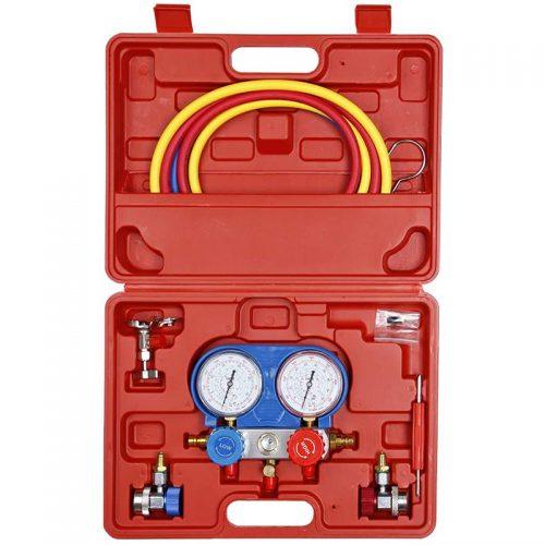 Σετ με εργαλεία ελέγχου πίεσης κλιματιστικών.