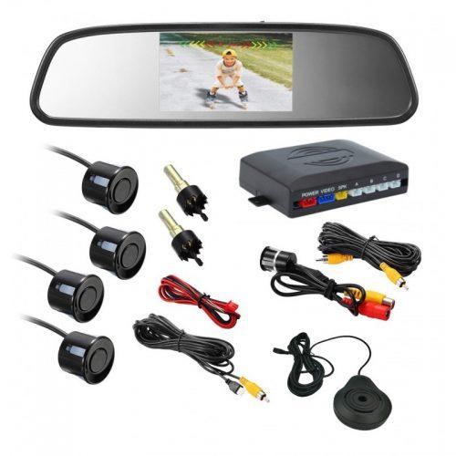 Αισθητήρες παρκαρίσματος & Καθρέφτης αυτοκινήτου με Οθόνη LCD 4,3
