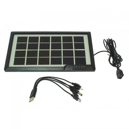 Φωτοβολταϊκό πάνελ 6V 3.8W IP65 GD-10X.