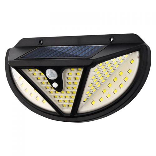 Ηλιακό LED τριών όψεων SOLAR με PANEL και αισθητήρα κίνησης NF-118.